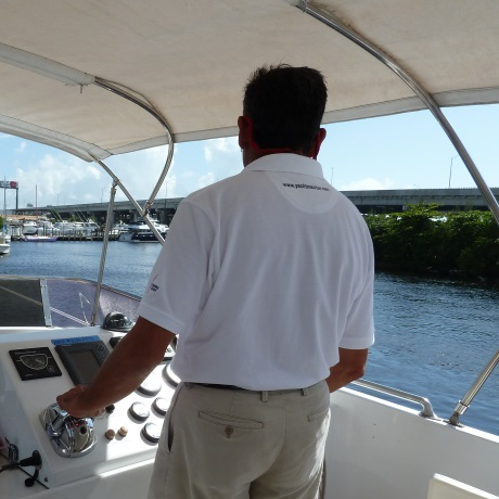 Helmsman course in Palma